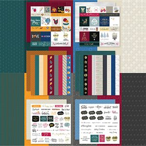 Picture of Fall Into Winter Designer Cardstock